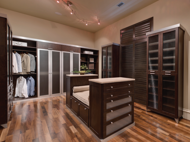 A Closet That Fits Men's Needs