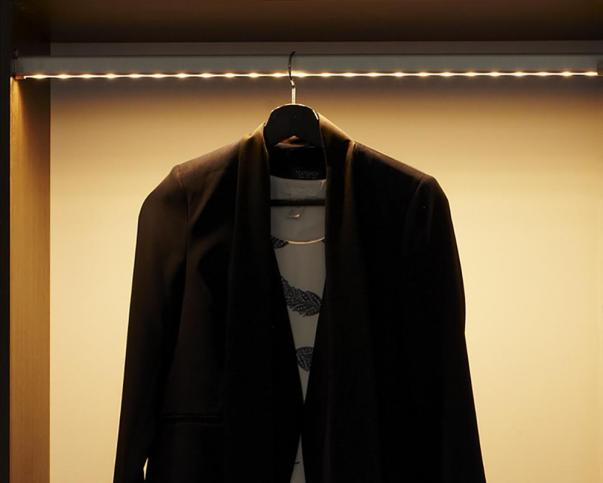 Make Your Closet More Stylish and Convenient – Use LED Rods