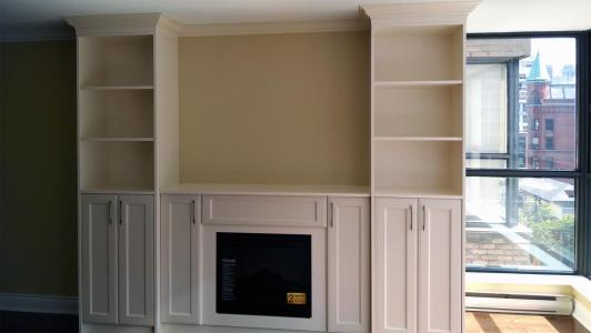 Wall Unit - Antique White